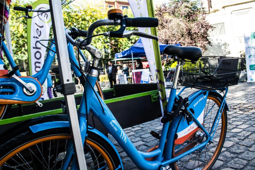 Bluebike deelfietsen