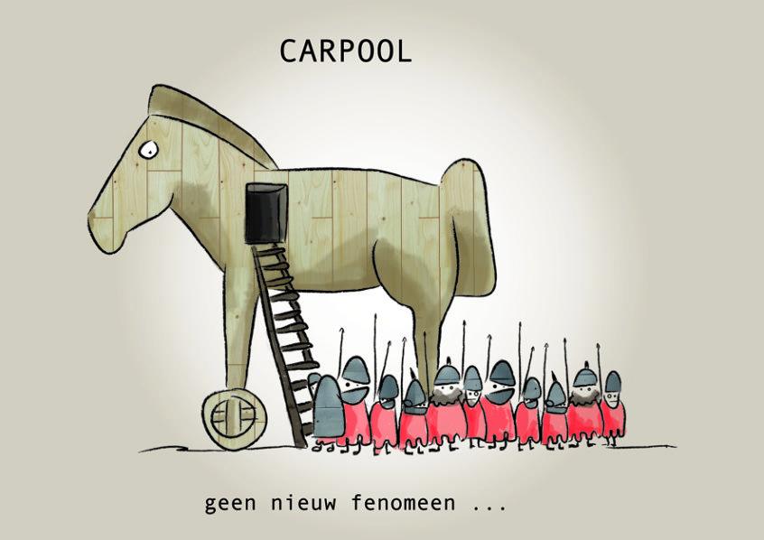 Carpool, geen nieuw fenomeen...